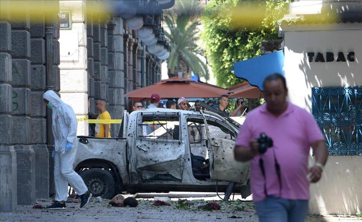 escenario del ataque suicida capital tunez 1561633896803
