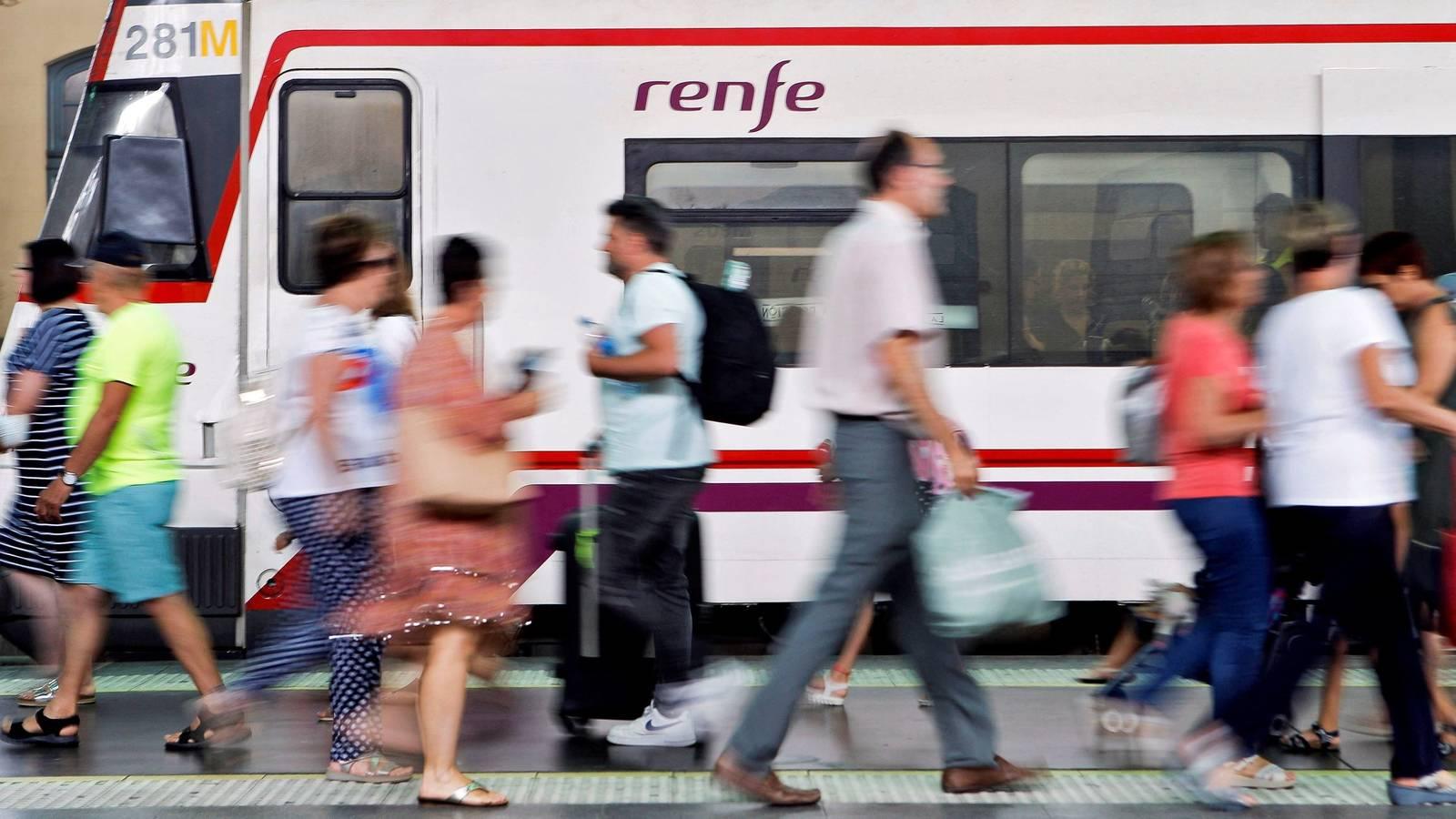 huelga de renfe del 31 de julio comprueba si tu tren esta cancelado en este buscador